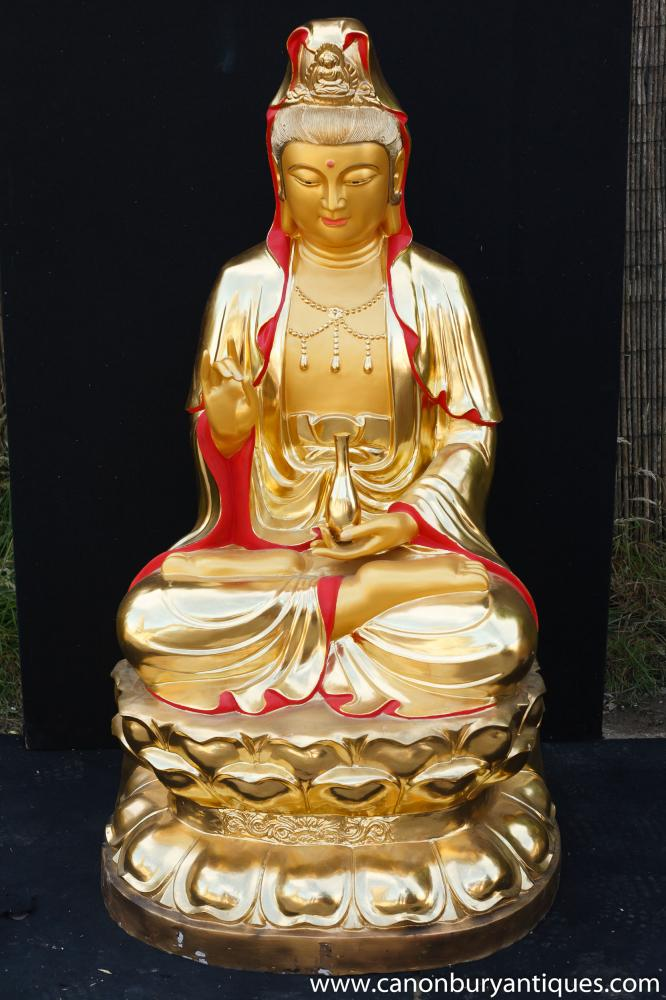 Big Bronze Nepalese Shakyamuni Buddha Statue Buddhistische Kunst Garden Buddhismus