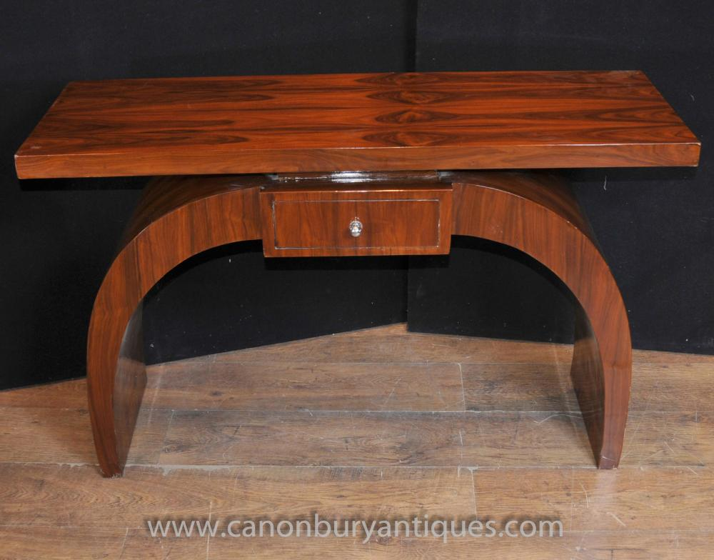 Art Deco Modernist Konsoltisch Rosewood Halle Tabellen