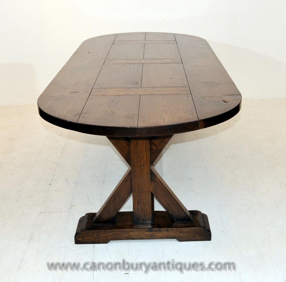 Englisch Eiche Refektorium Tabelle Bauernhaus Möbel Holztischen
