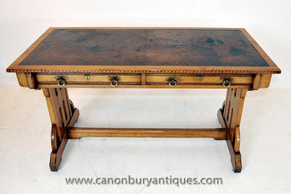 Englisch kunst und handwerk writing table antique for Schreibtisch auf englisch