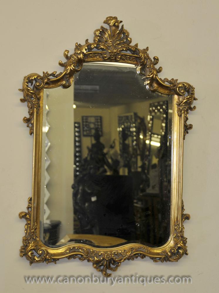 George II Gilt Pier Spiegelglas Spiegel