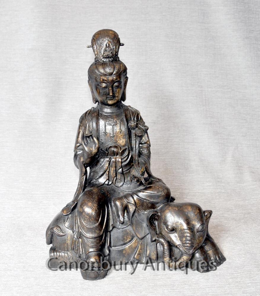 Bronze nepalesischen Buddha Elephant Statue buddhistischen Buddhistische Kunst