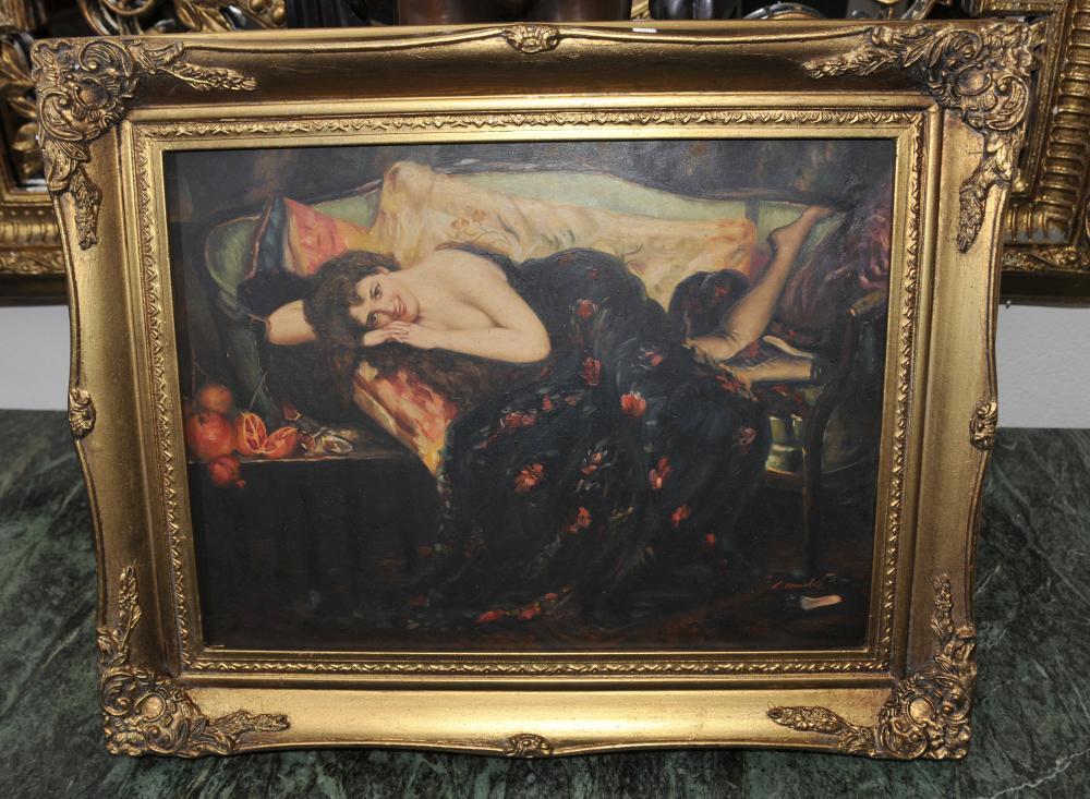 Englisch vor Raphaelite Ölgemälde Female Portrait