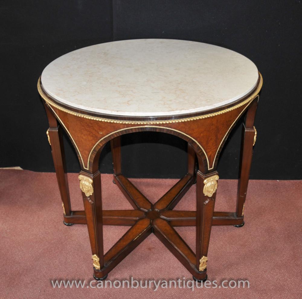 Französisch Reich Runde Center Tischkingwood Tabellen Ormolu