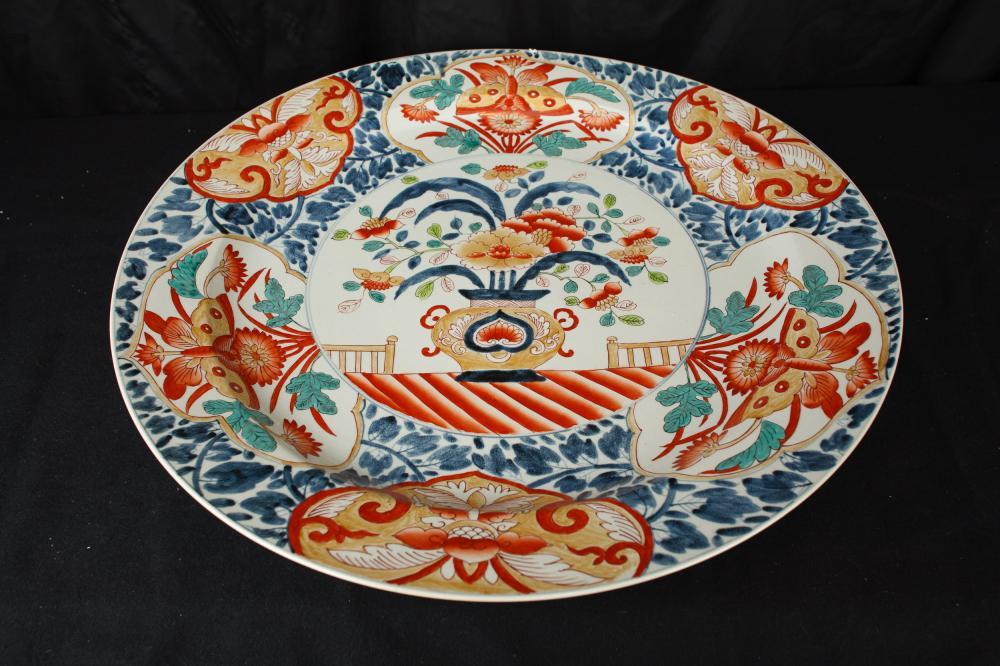 Gran Xina Plate Placa Imari Porcellana plat de ceràmica de la Xina
