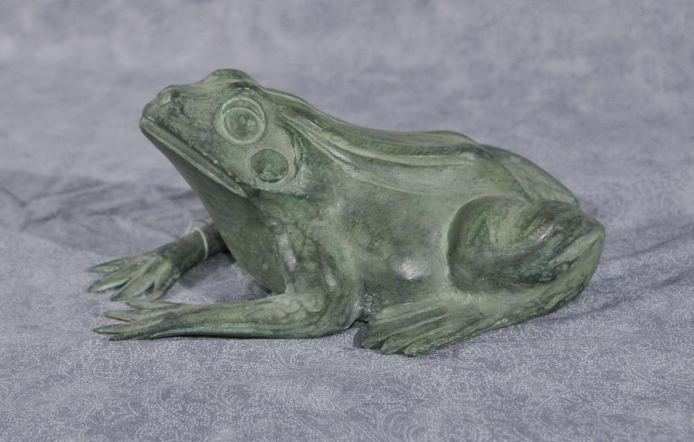 Kleine Bronze Frog Fountain Garden Water Feature Toad