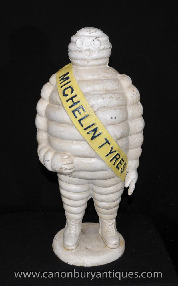 Michelin großen gusseisernen Michelin Mann Statue Französisch Bibendum Statue