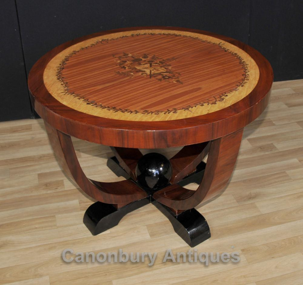 Art Deco Round Beistelltisch Stehtische Möbel