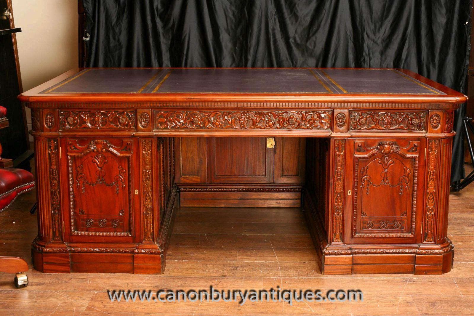 amerikanische pr sidenten schreibtische resolute desk. Black Bedroom Furniture Sets. Home Design Ideas