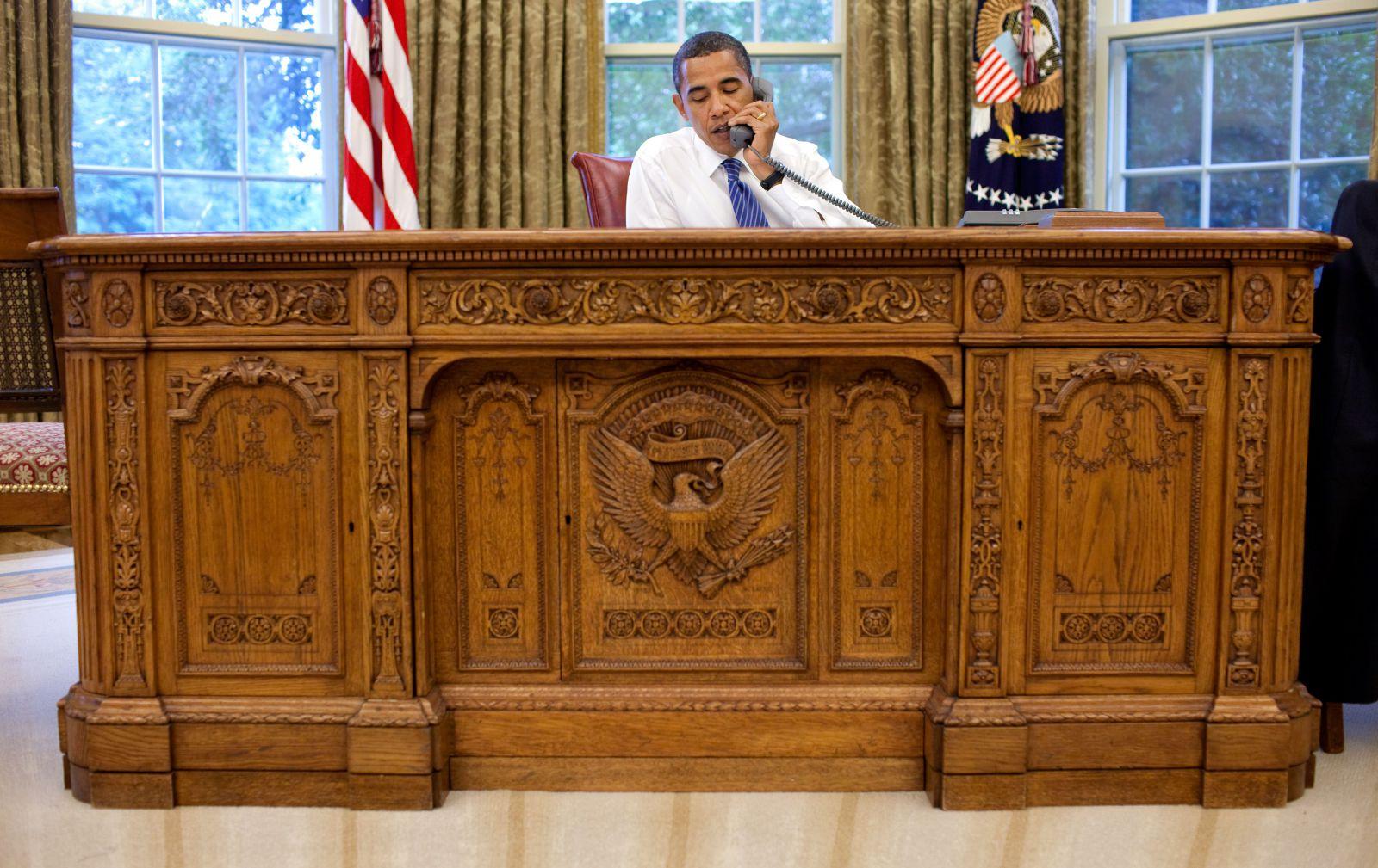 Amerikanische Präsidenten Schreibtisch