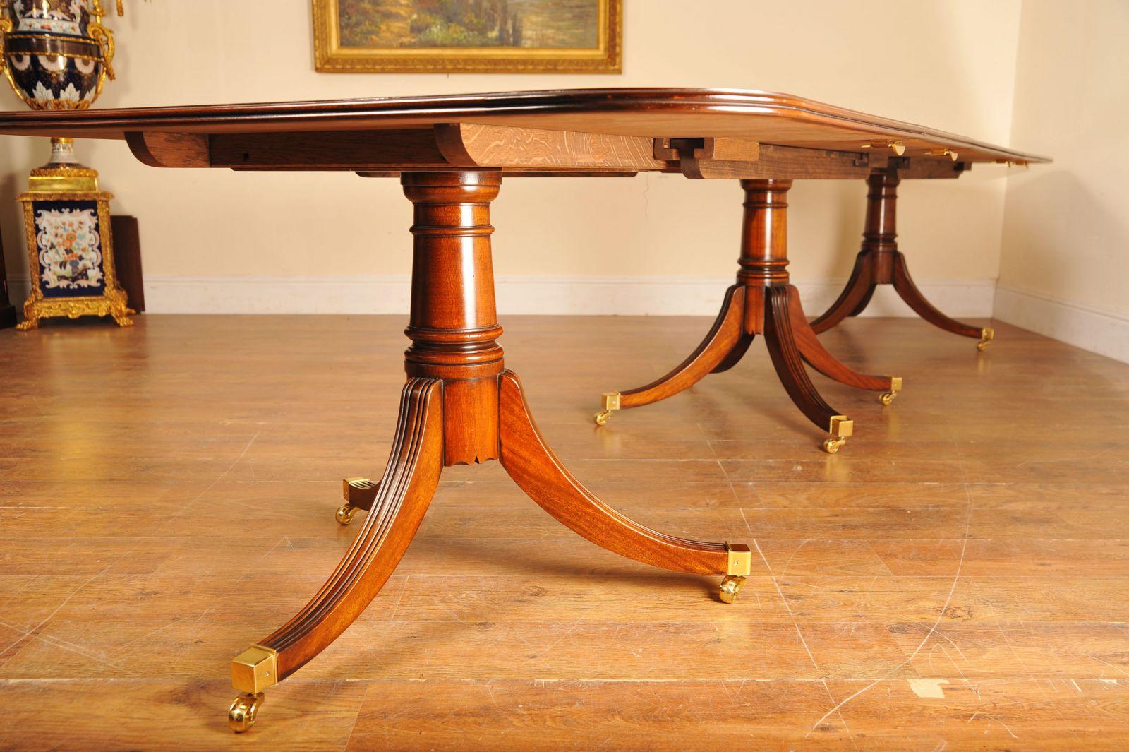 Antique Regency Pedestal Table