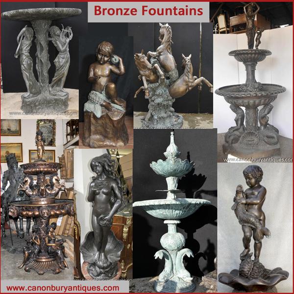 Bronze Brunnen