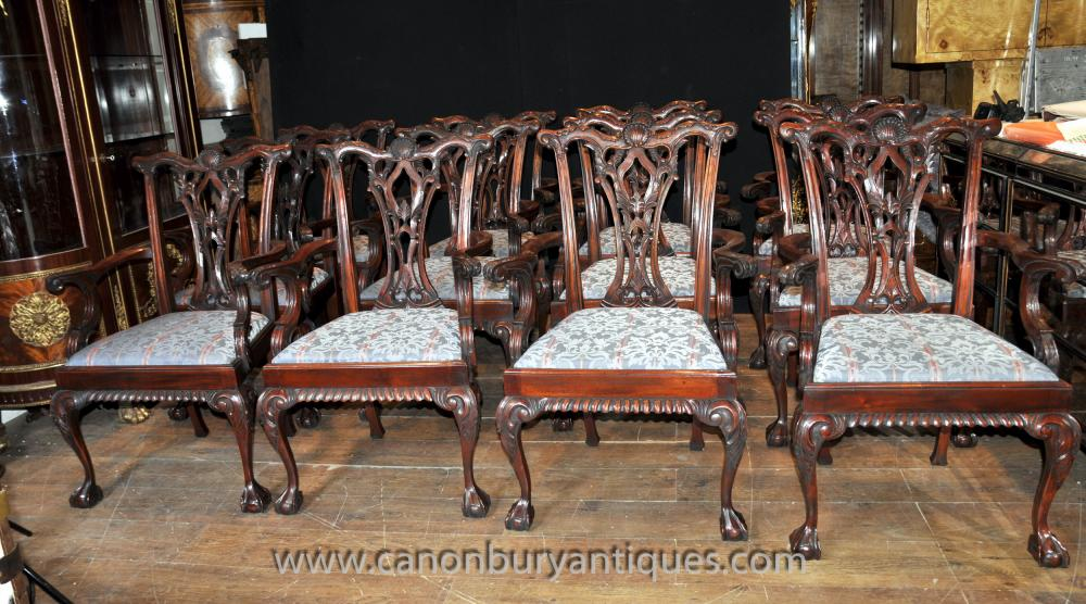 Chippendale Esszimmerstühle