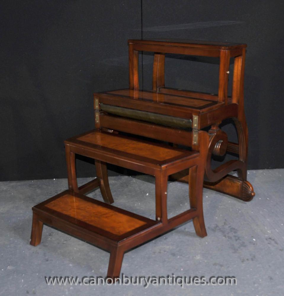 Metamorphic Stuhl Bibliothek Schritte