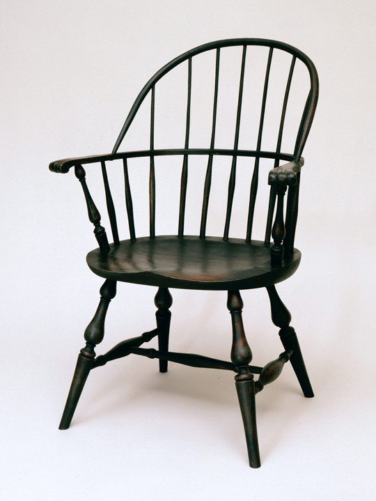 Sack back Windsor chair (2)