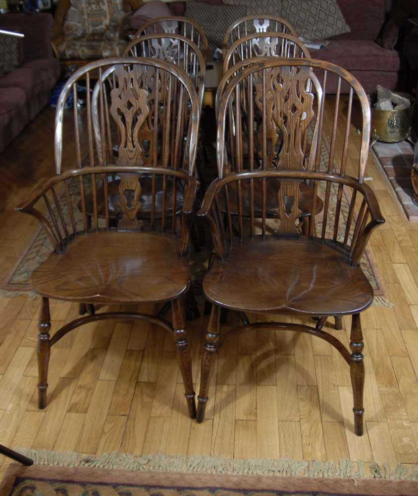 set windsor chairs