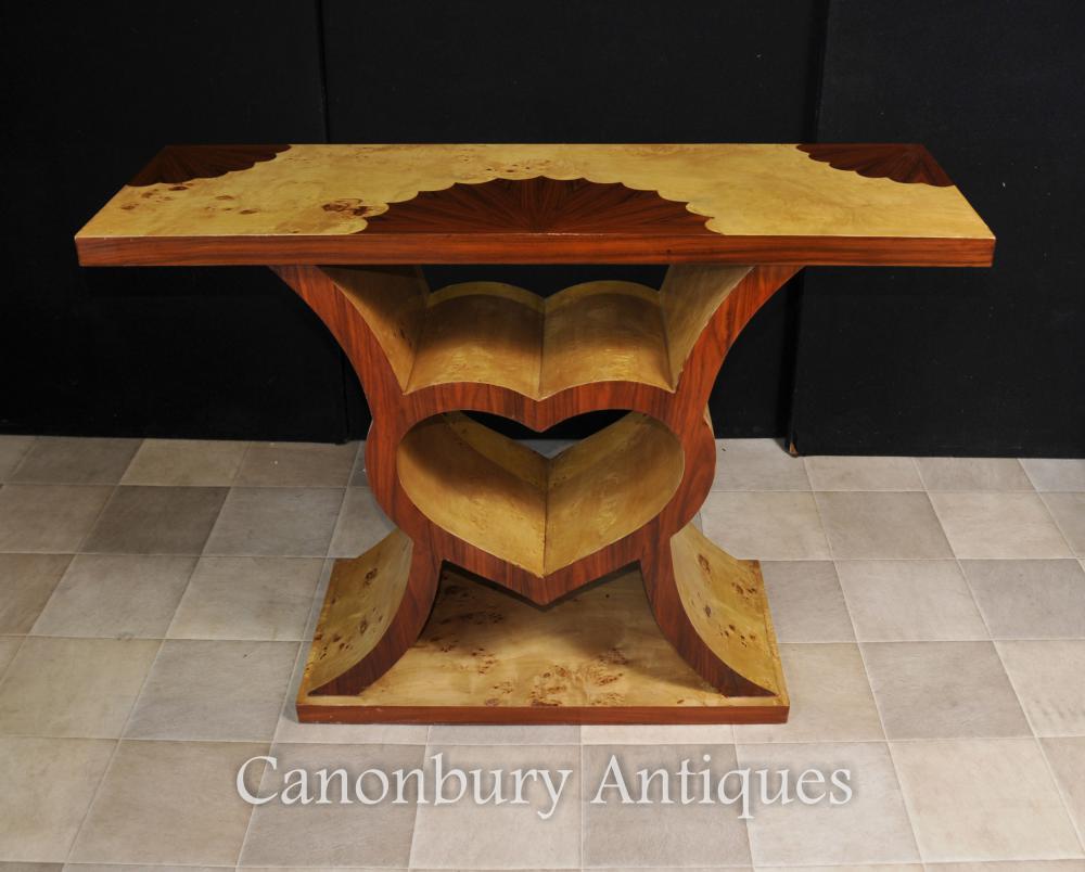 Art-Deco-Herz-Konsolentisch 1920er modernistischen Möbel