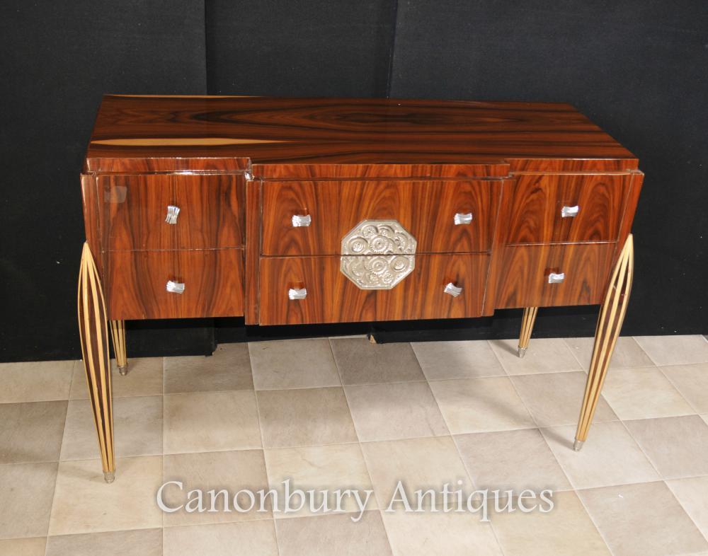 Art Deco Kommode Schubladen Anrichte Buffet Server Essmöbeln