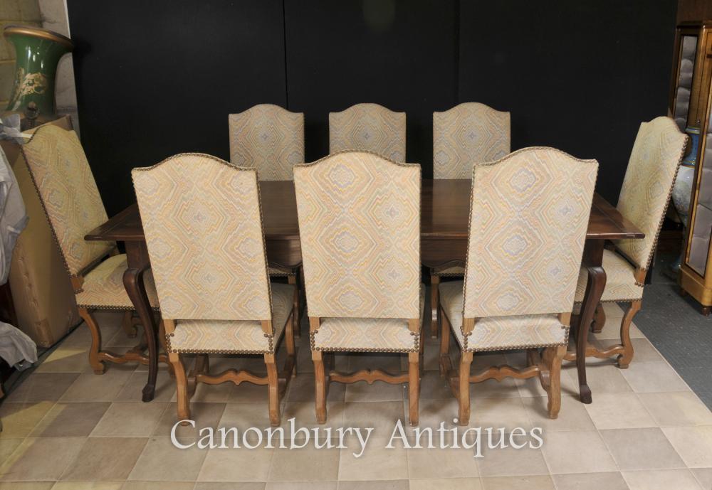 Englisch Bauernhof Dining Set Refektorium Tisch und Stuhl Set Kitchen Diner