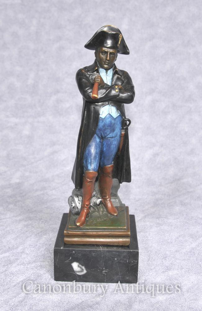 Französisch Bronze Napoleon Statue von Guillemin Kaiser Napoleon