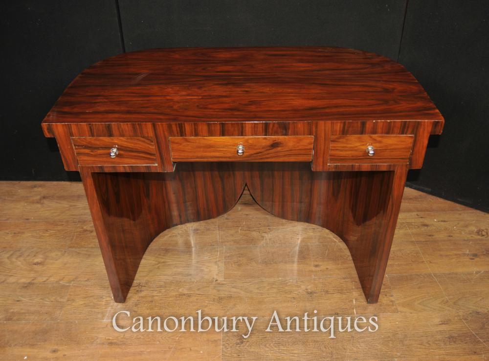 Art Deco Schreibtisch Schreibtisch in Palisander Möbel