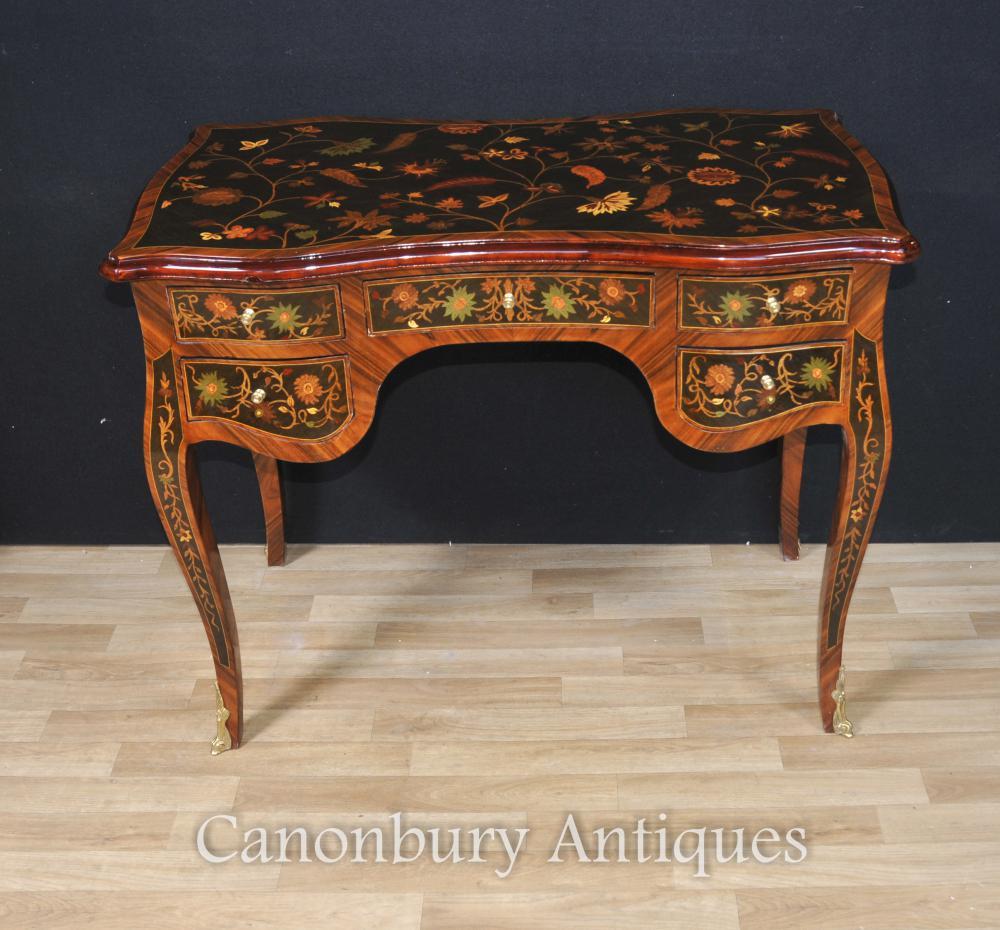 Französisch Louis XVI Schreibtisch Bureau De Dame Schreibtisch Plat Inlay