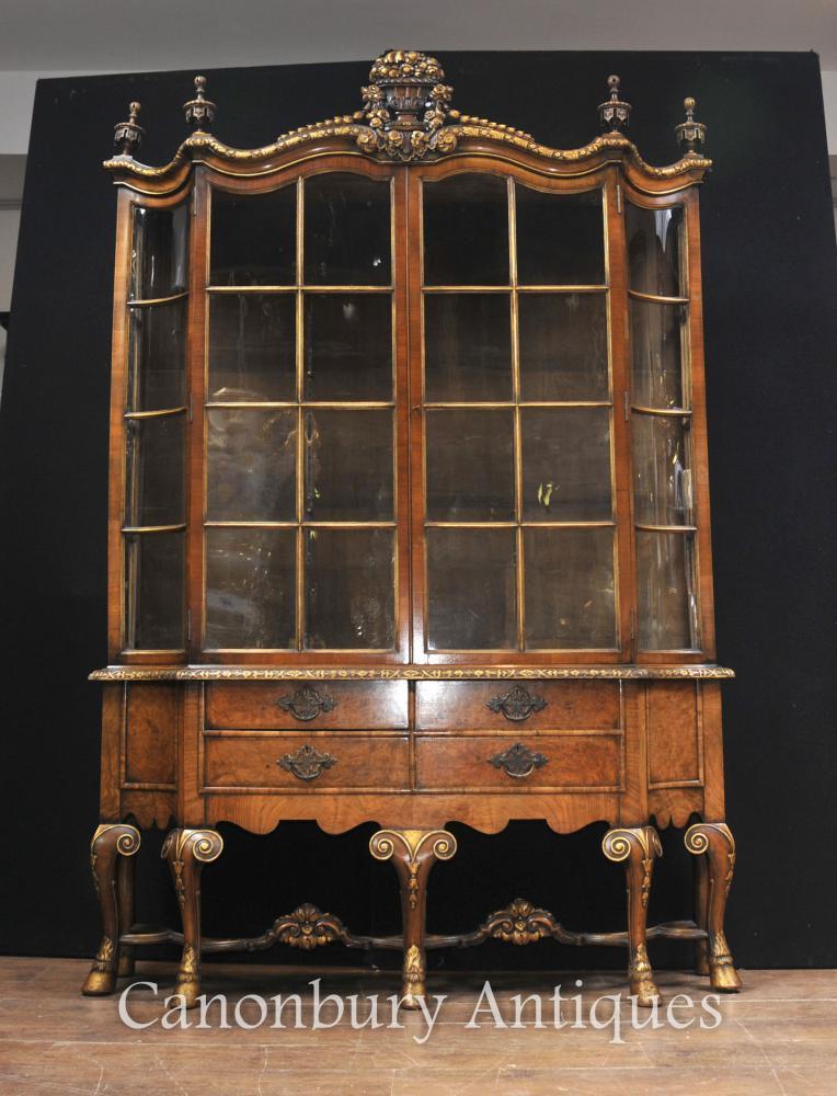 Bücherregal gemalt  Vitrinen   Canonbury Antiquitäten - London, Großbritannien Kunst ...