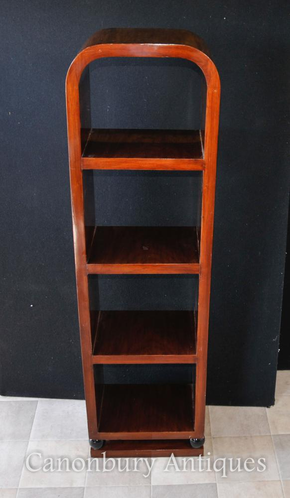 Einzelzimmer Art Deco Bücherregal Rosewood Regal Unit