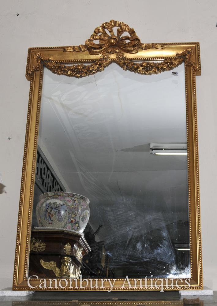 Englisch Adams Gilt Pier Mirror Regency Klassische Spiegel