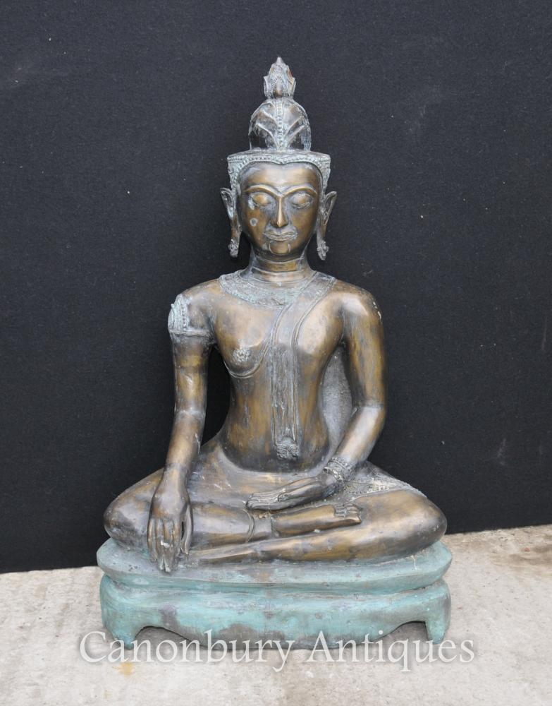 Große bronzene nepalesische Buddha-Bronze-Buddhismus-buddhistische Kunst Nepal