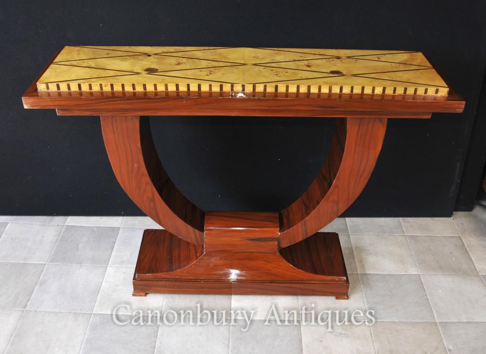 Art- DecoOgee Rosewood Konsolen-Tabellen-Hall-Tabellen