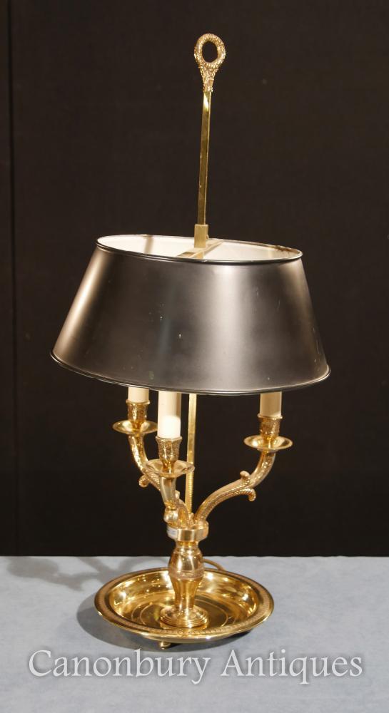 Regency Ormolu Tischleuchte Kandelaber Licht