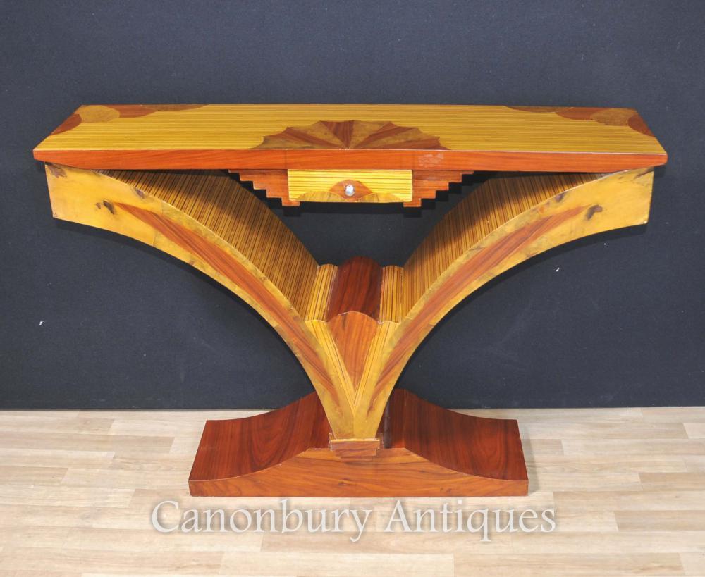 Art Deco Moderne Konsole Tabelle 1920s Möbel Tische