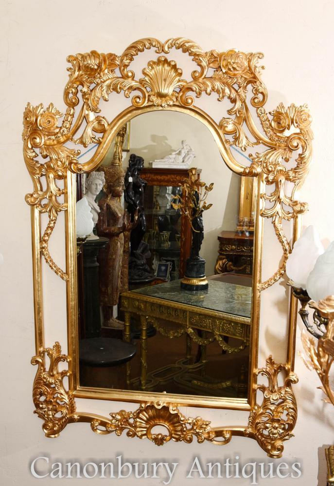 Englisch George II Gilt Pier Spiegel Rococo Spiegel