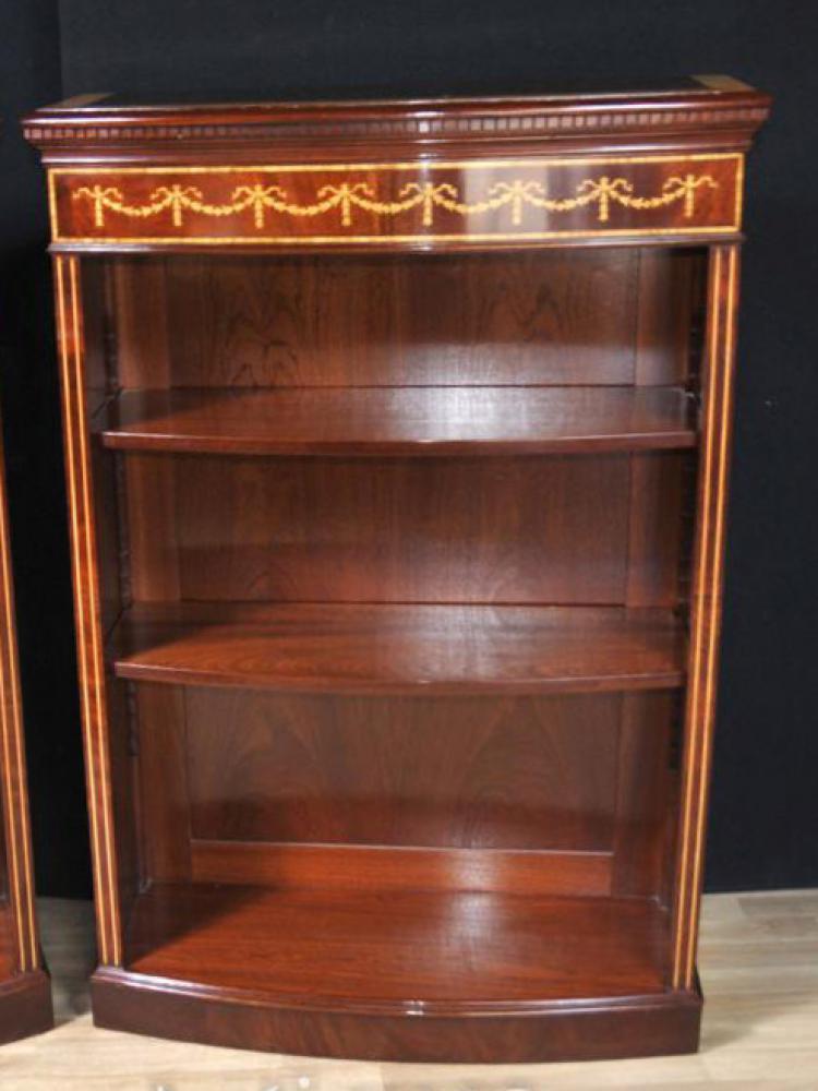 Regal Mahagoni Bücherregal Öffnen Bücherregale