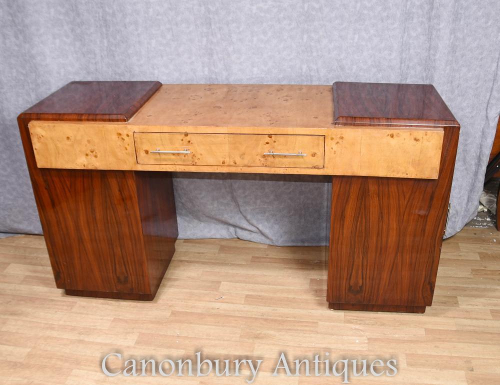 Art Deco Schreibtisch Walnuss Palisander Schreibtisch Tischmöbel