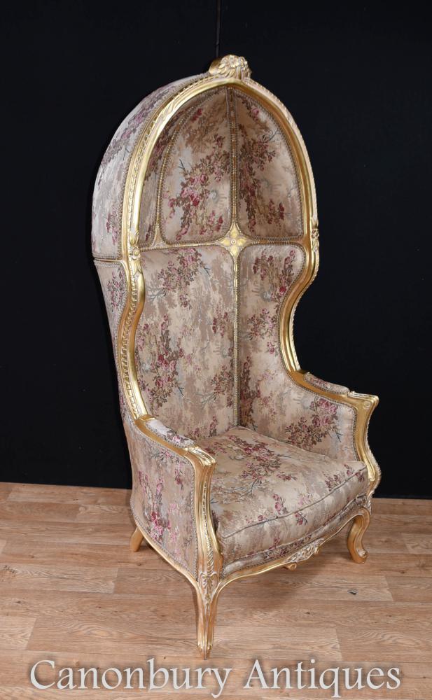 Regency Gilt Porters Stuhl Stühle
