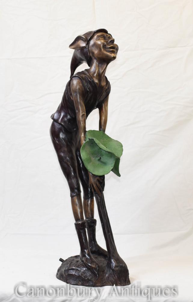 Bronze-Elf-Brunnen Celtic Fairey Elph Casting Statue