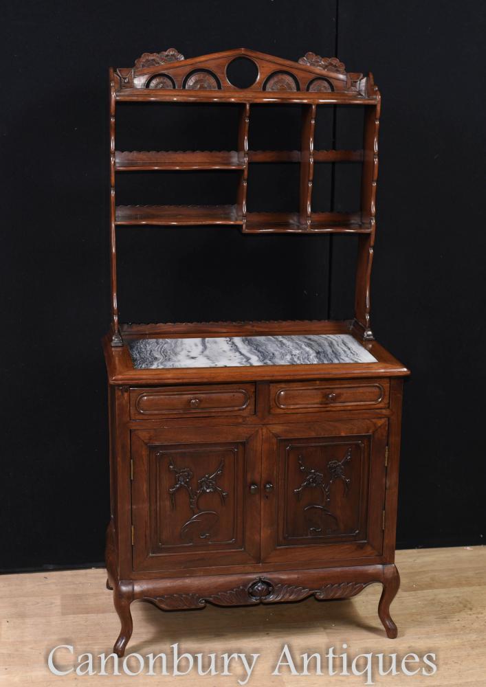 Antike chinesische Hartholz Kommode Circa 1850 Kabinett Bücherregal