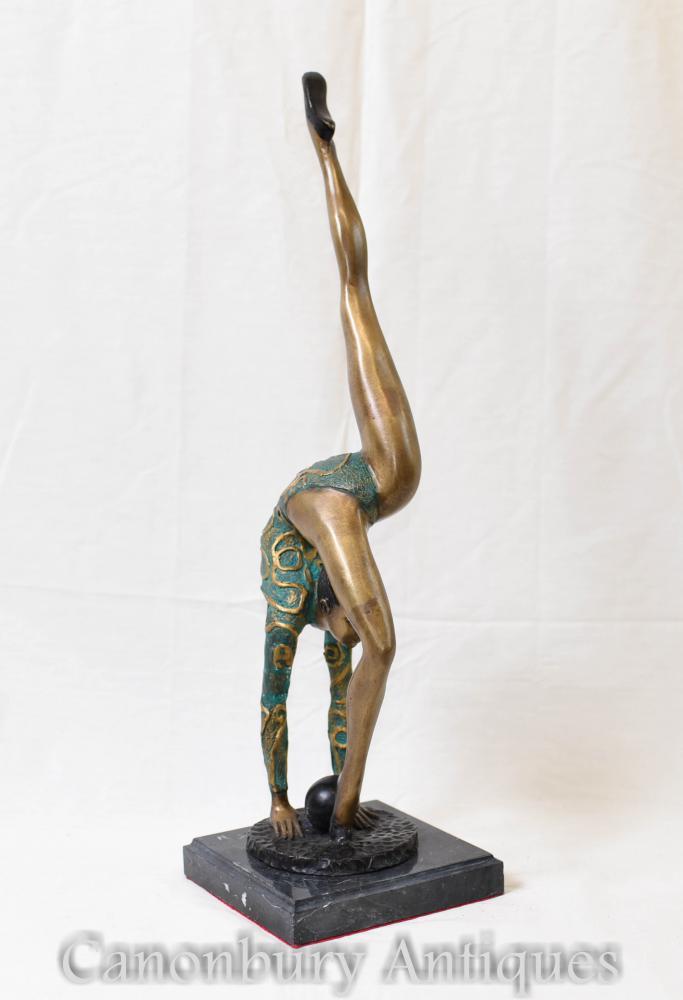 Art-Deco-Statue - Ball Dancer 1920er Jahre weibliche Figur