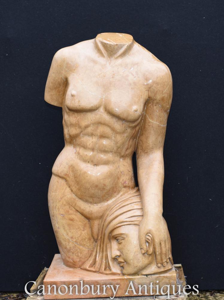 Klassische Marmor Torso Statue Medusa Perseus griechischen Mythos Kunst