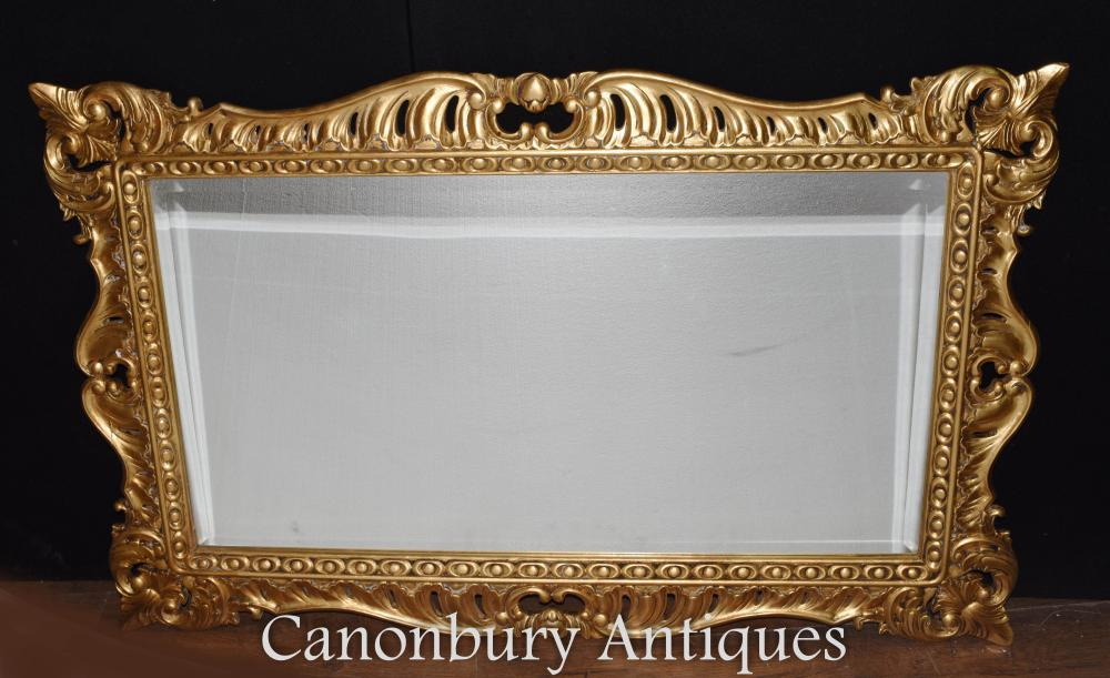Regency Adams Gilt Mantel Spiegel