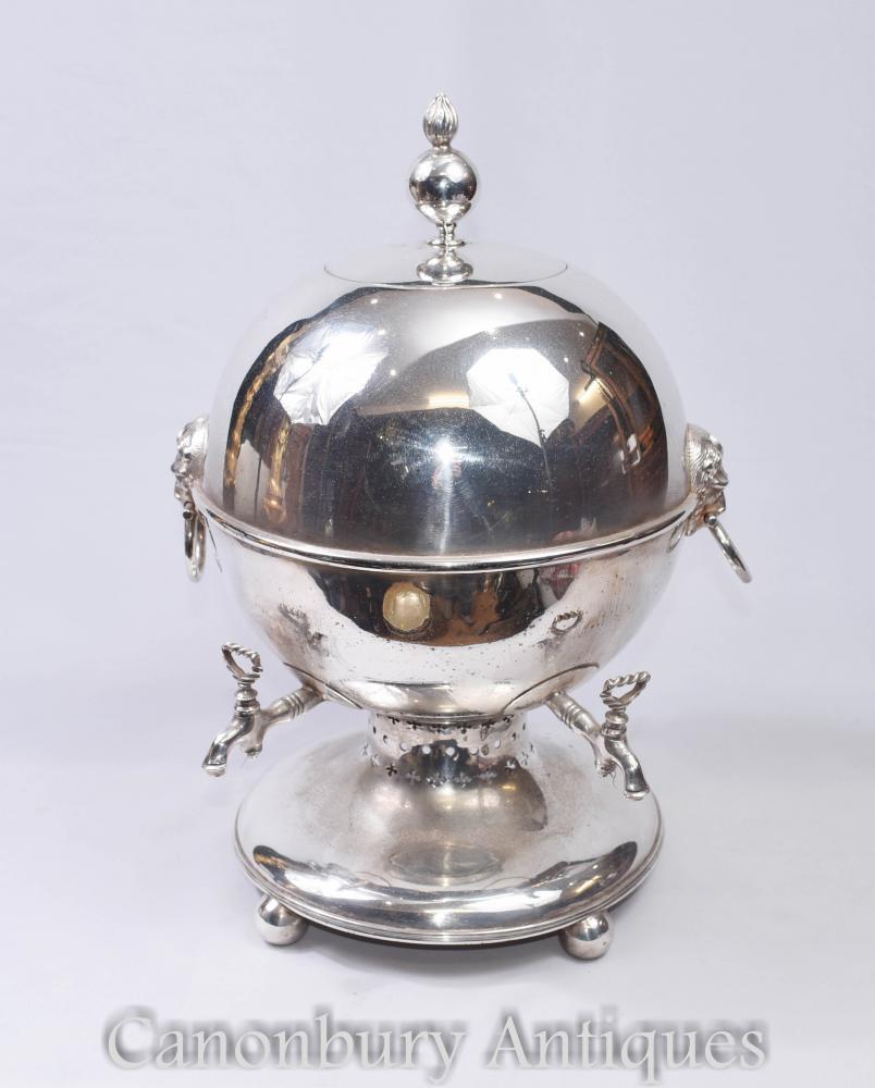 Sheffield Silver Plate Samowar Tee Urne - viktorianischen Circa 1880