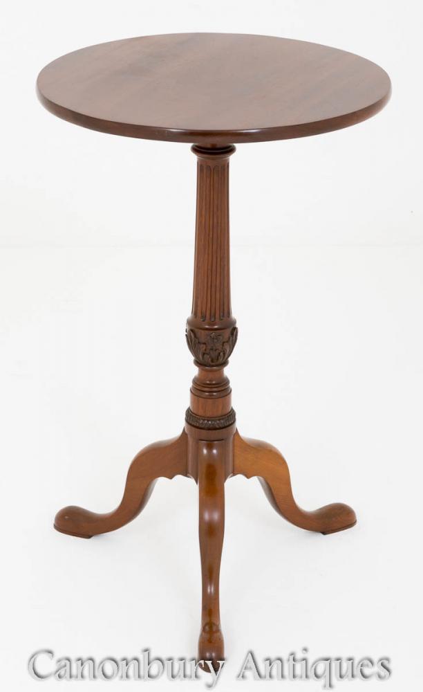 Victorian gelegentliche Beistelltisch Mahagoni Tabellen