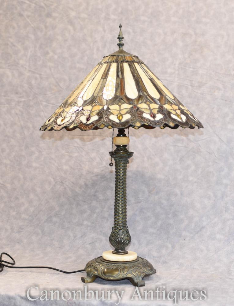 Jugendstil Tiffany Tischlampe Licht