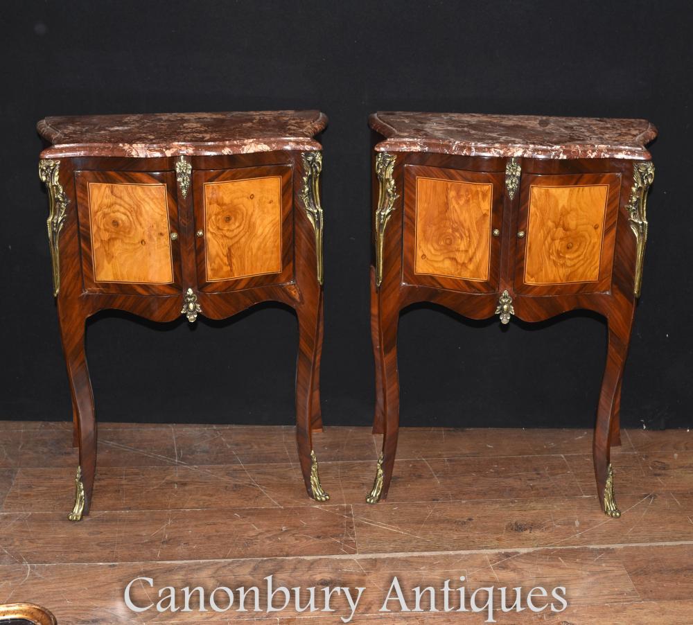 Nachtschränke | Canonbury Antiquitäten - London, Großbritannien ...