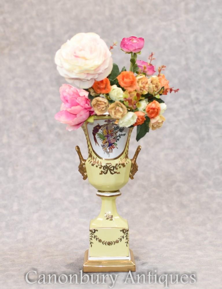 Dresdner Porzellanvase - Blumenkübel Campana Urne