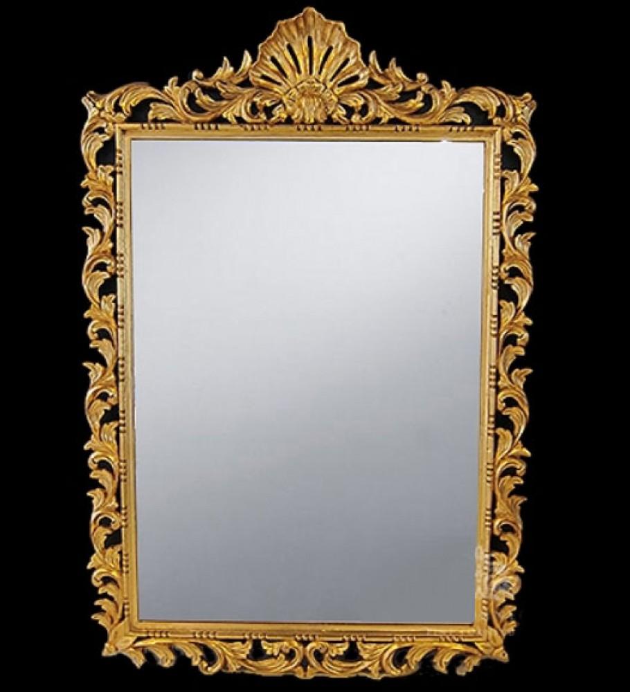 George II Rococo Gilt Pier Mirror - Englische Glasspiegel