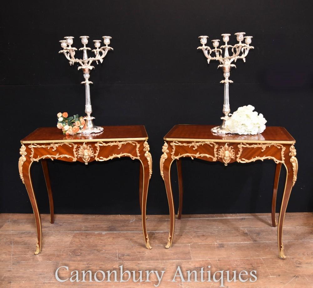 Französische Beistelltische von Canonbury Antiques