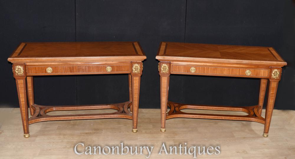 Konsolentische des französischen Reiches von Canonbury Antiques